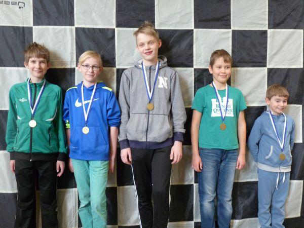 4-6 lk sarjan voitti Mankkaanpuron koulun joukkue Espoosta