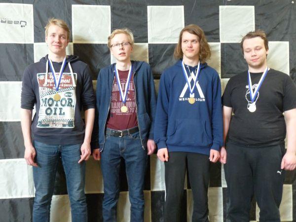 Jatkokoulujen mestaruuden voitti Päivölä