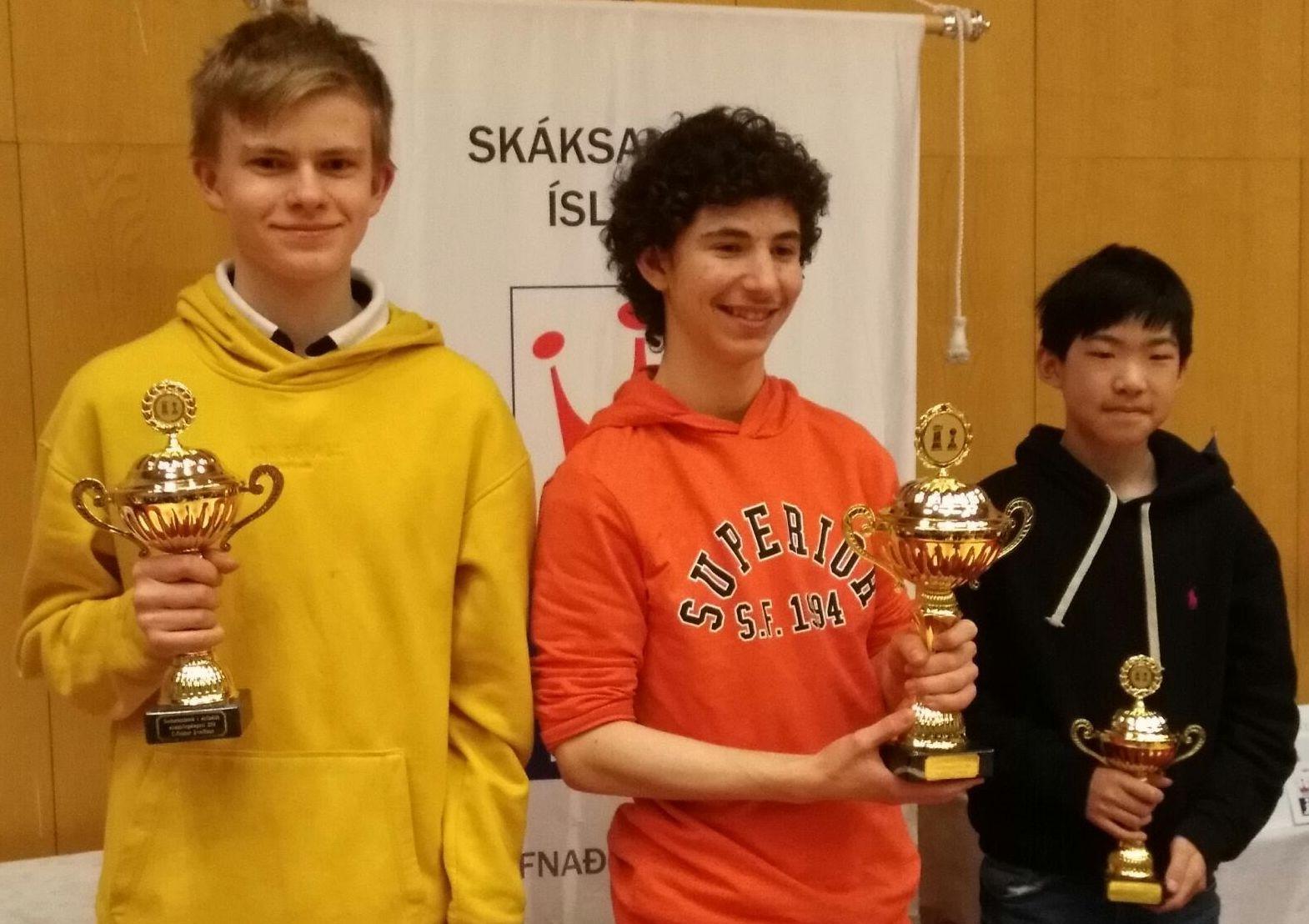 Oliver Wartiovaara sai hopeaa C-sarjassa