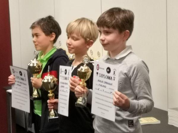 E-ryhmän voittajat