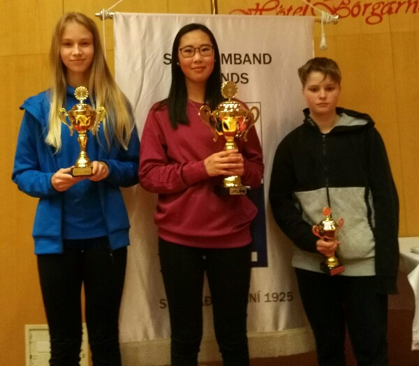 Sarabella voitti T16 PM-hopeaa